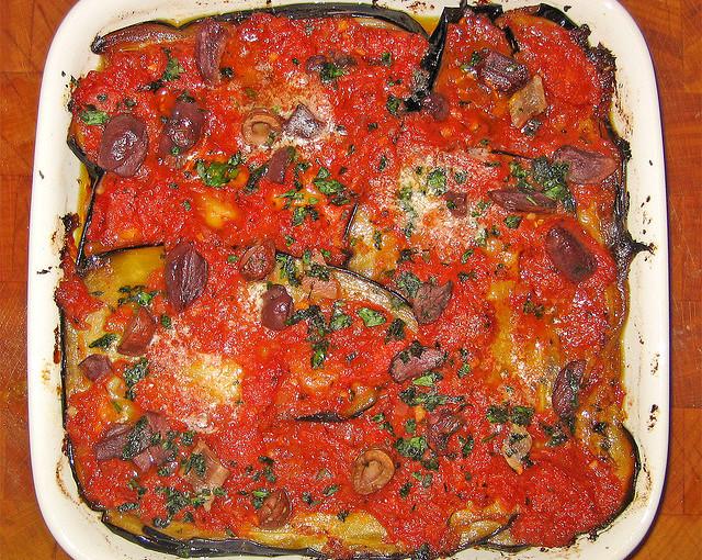 Kuchnia włoska i także krajowe mięso sezonowane