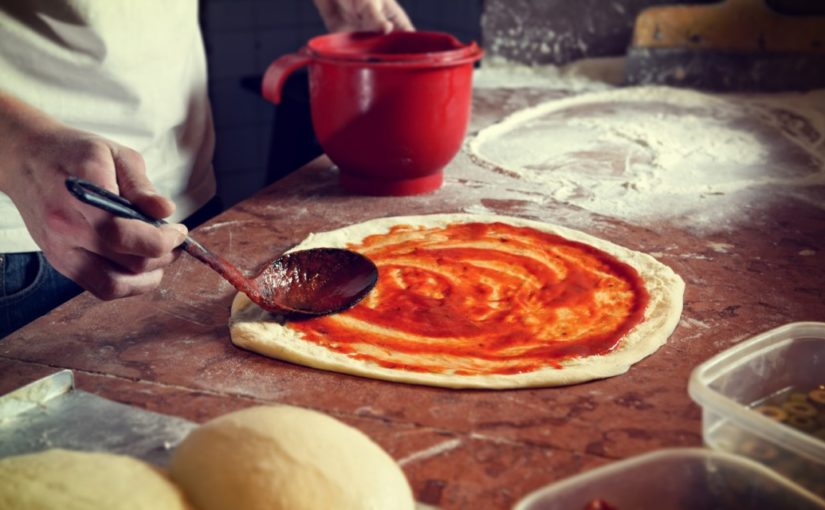 przepis ciasto na pizze